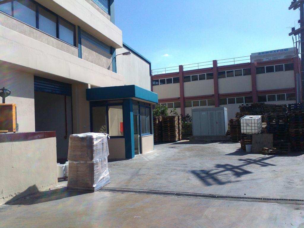 Καλυψη υπαιθριου χωρου 400 m2 για κατασκευη αποθηκης